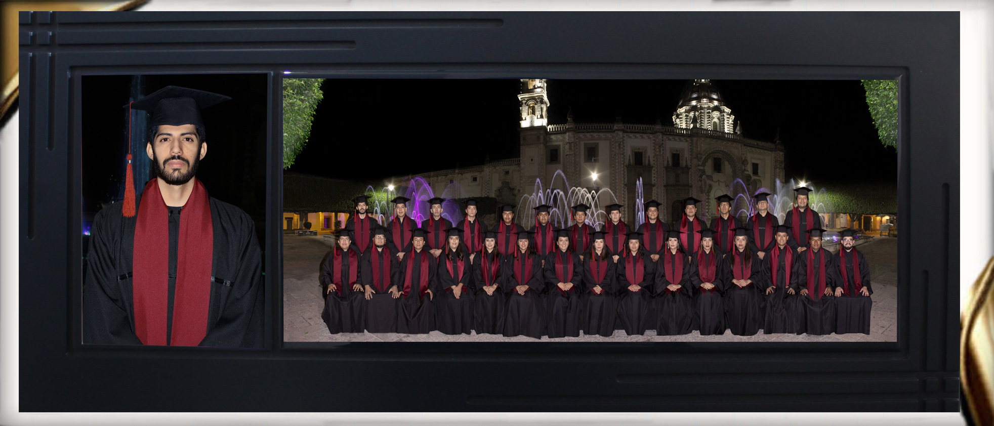 Anillos de Graduación SIMETRICO